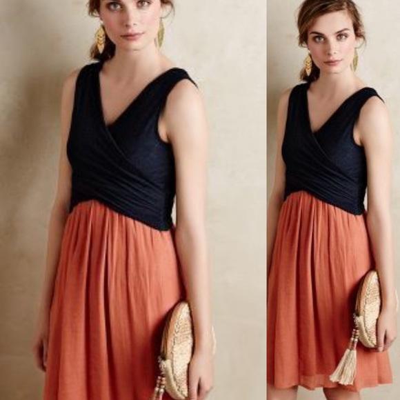 Anthropologie Dresses & Skirts - Amadi Wrap Top Lola Dress